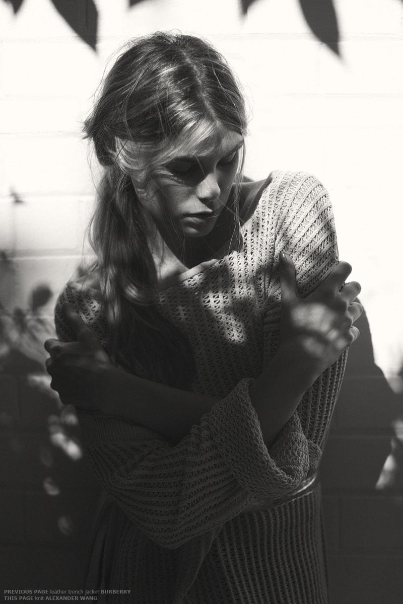 Anna Sjoberg by Dean Podmore for <em>Fashion Gone Rogue</em>