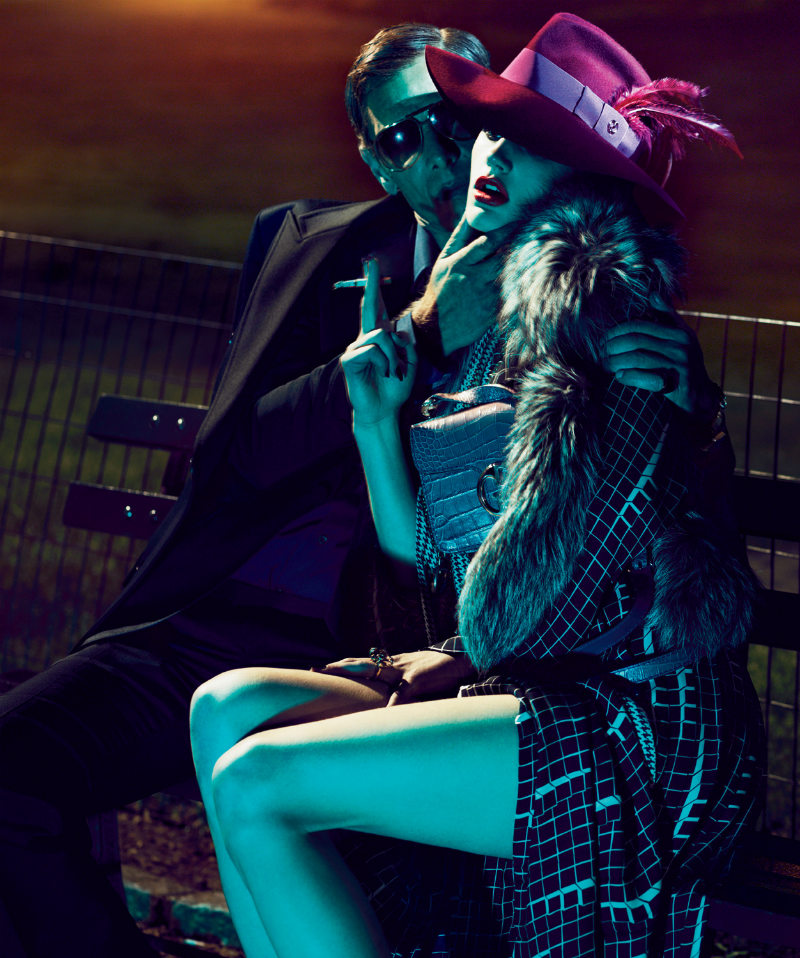 Saskia de Brauw wore Gucci in Mert &#038; Marcus' photo for Interview August