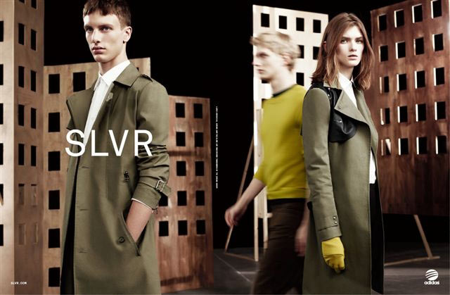 Lara Mullen is a City Girl for Adidas SLVRs Fall 2012 Campaign by Willy Vanderperre