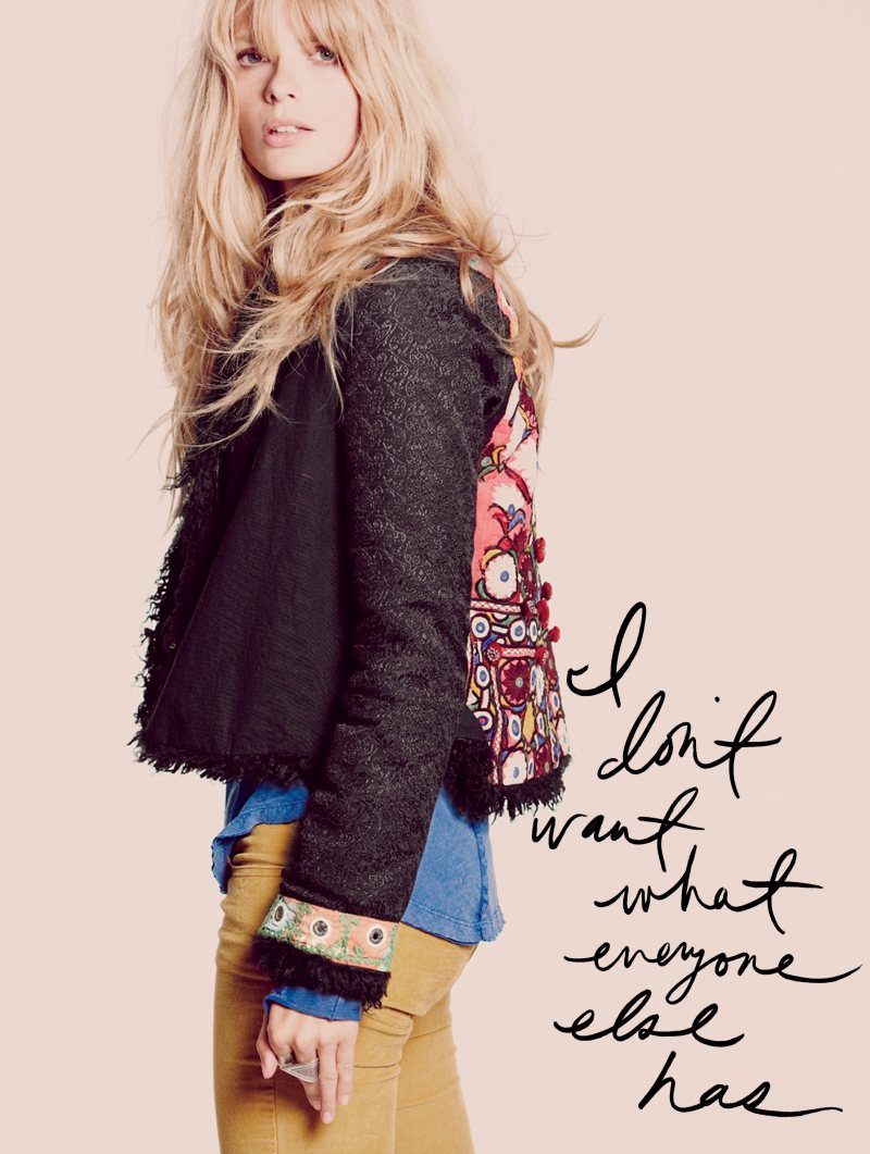 Free People Oct 2011 01 Julia Stegner by Guy Aroch for Free People October 2011 Lookbook 