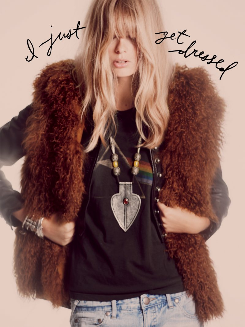 Free People Oct 2011 05 Julia Stegner by Guy Aroch for Free People October 2011 Lookbook 