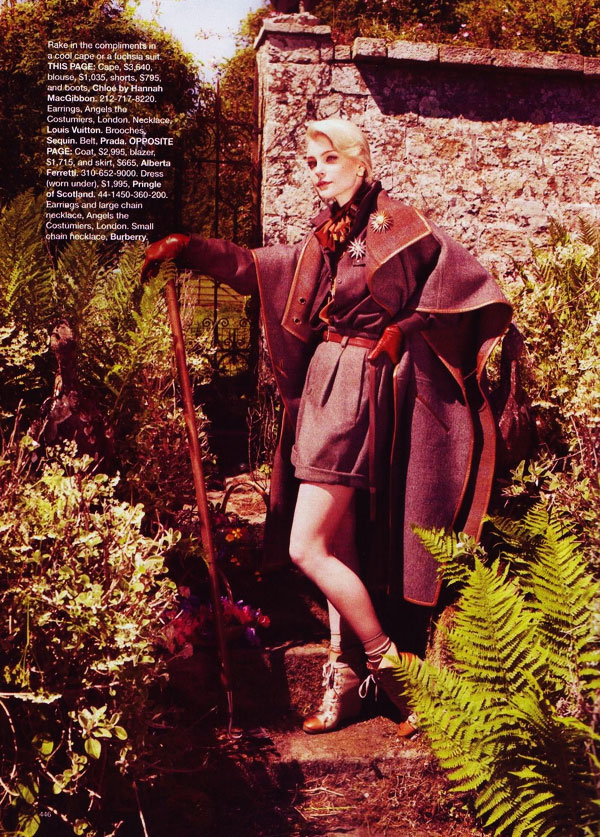 stamhb10 Jessica Stam in 'New Pieces You'll Love Forever' by Benjamin Alexander Huseby