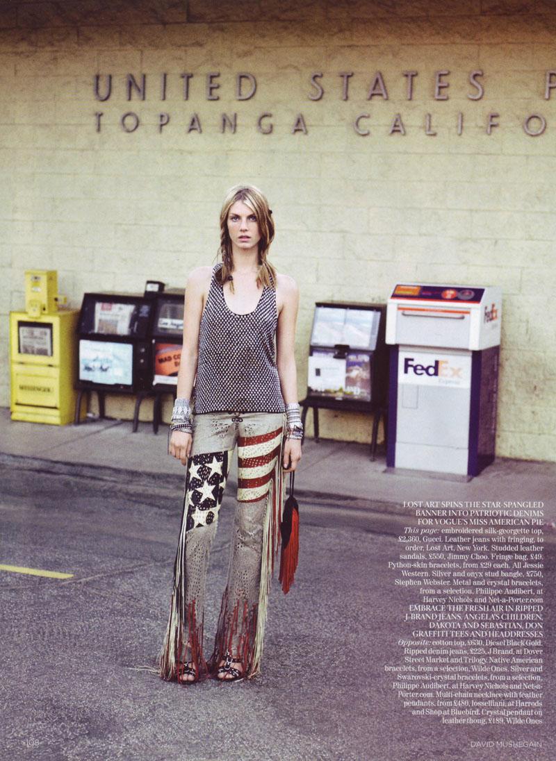 Angela in Vogue UK