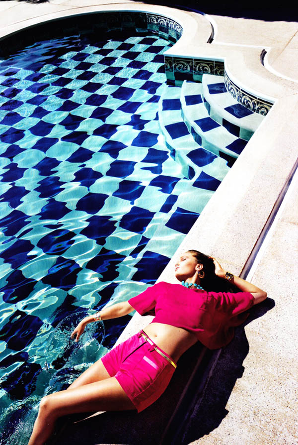 alla Alla Kostromicheva by Cédric Buchet for <em>H&M Magazine</em> Summer 2011