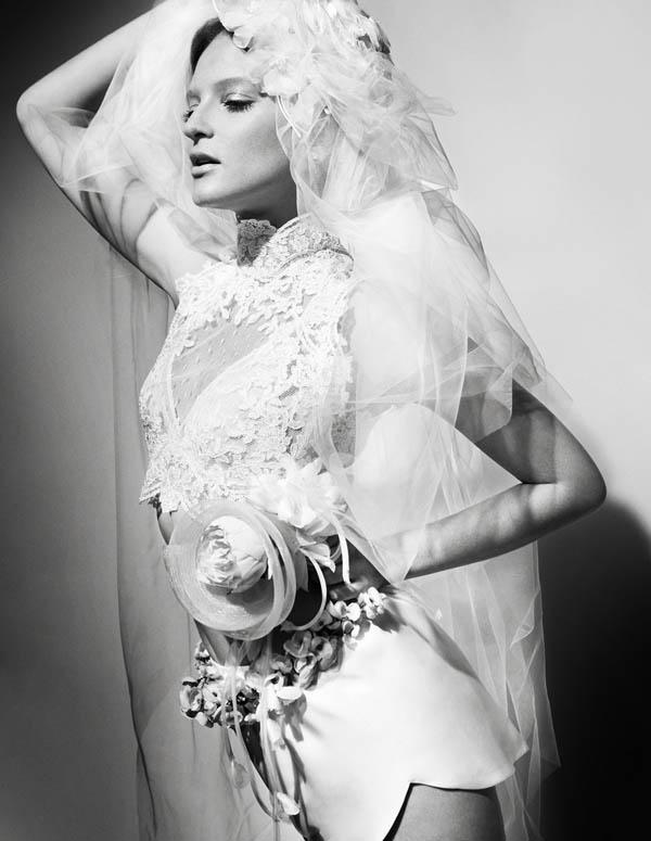 bruna Bruna Erhardt by Renam Christofoletti for <em>Vogue Brazil Brides</em>