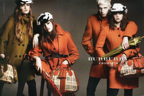 burberry Burberry Fall 2011 Campaign by Mario Testino (Preview)