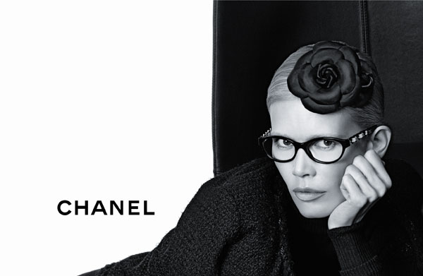 chanel Chanel Eyewear Fall 2011 Campaign | Claudia Schiffer by Karl Lagerfeld