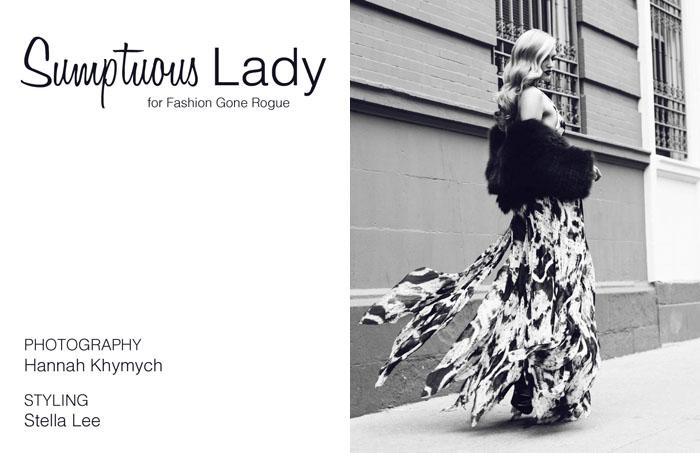 cheyenne Cheyenne Tozzi by Hannah Khymych for <em>Fashion Gone Rogue</em>