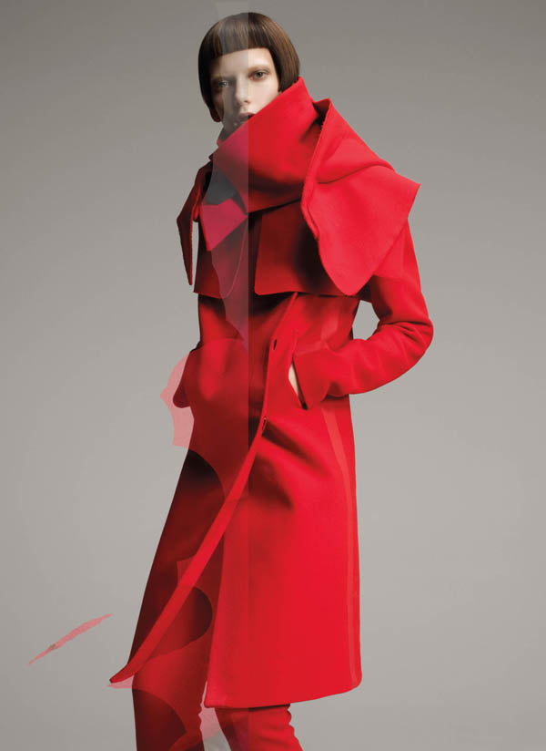 costumenationalcampaign Costume National Fall 2011 Campaign | Valerija Kelava by Glen Luchford