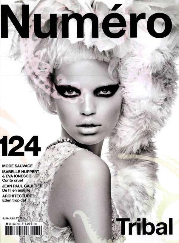 daphnecover <em>Numéro</em> #124 June/July 2011 Cover | Daphne Groeneveld by Greg Kadel