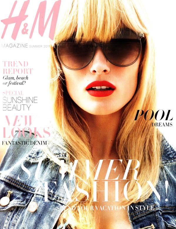 editacover <em>H&M Magazine</em> Summer 2011 Cover | Edita Vilkeviciute by Daniel Jackson