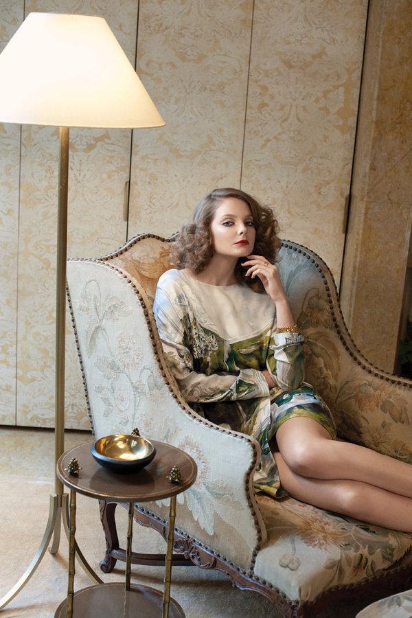 eniko mihalik5 Eniko Mihalik by Max Farago for <em>Bergdorf Goodman</em> Pre Fall 2011
