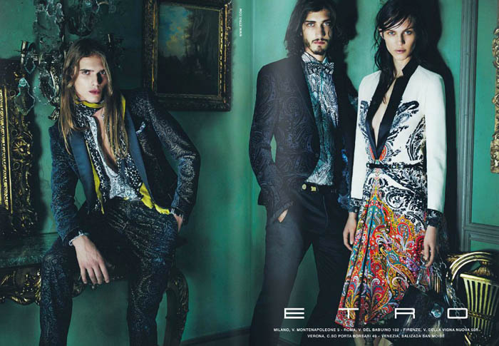 etro Etro Fall 2011 Campaign Preview | Aymeline Valade by Mario Testino