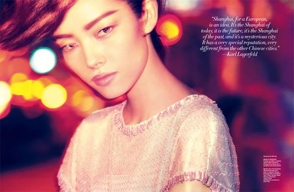 fei fei sun Fei Fei Sun in Chanel for <em>Harpers Bazaar Singapore</em> June 2011