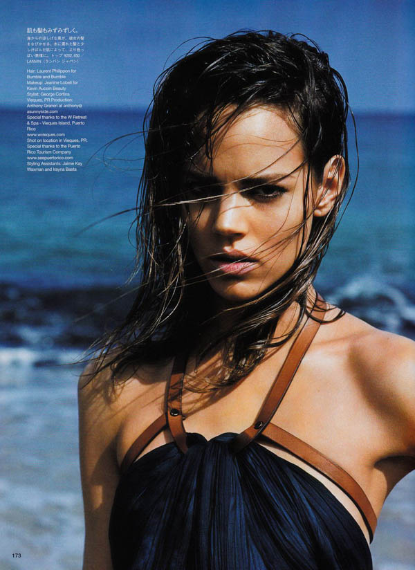 freja beha erichsen Freja Beha Erichsen by Alasdair McLellan for <em>Vogue Japan</em> July 2011
