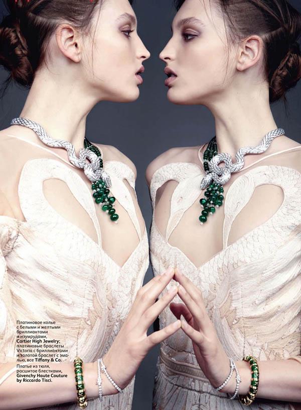 georgina stojiljkovic Georgina Stojiljkovic for <em>Vogue Russia</em> June 2011