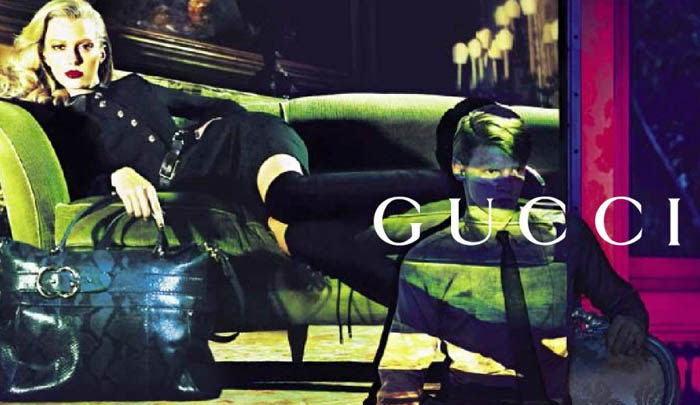 gucci1 Gucci Pre Fall 2011 Campaign Preview   Sigrid Agren by Mert & Marcus