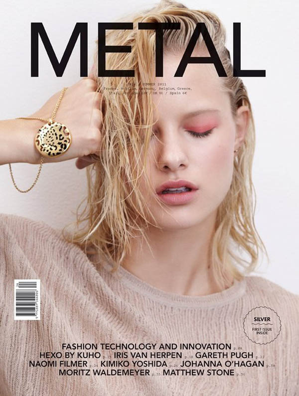 hannahcover <em>Metal</em> #24 Cover | Hannah Holman by Eric Guillemain