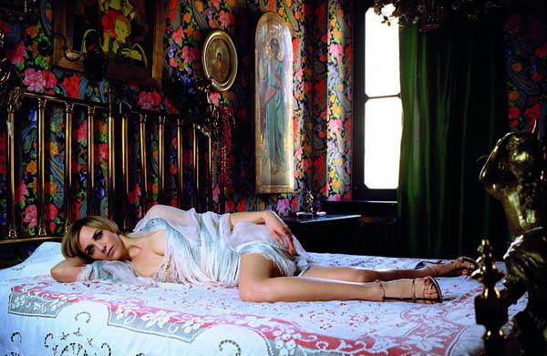 holy2 Hannelore Knuts by Leonora Hamill for <i>Tar Magazine</i> Fall/Winter 2011