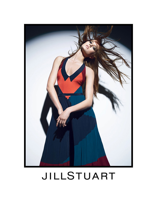 jill5 Jac Jagaciak for Jill Stuart Fall 2011 Campaign by Mario Sorrenti