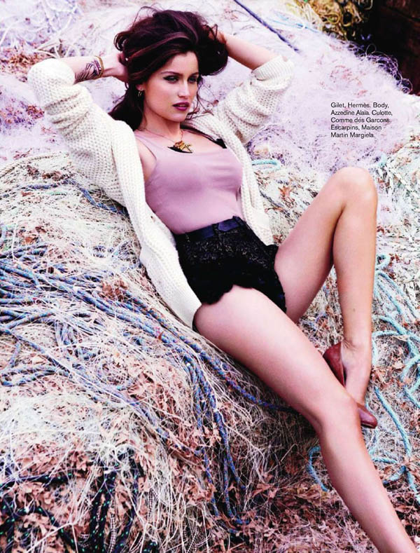 laetitia casta Laetitia Casta by Ellen von Unwerth for <i>Glamour France</i> July 2011