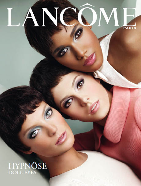 lancome Daria Werbowy, Arlenis Sosa & Elettra for Lancome Hypnose Doll Eyes Campaign