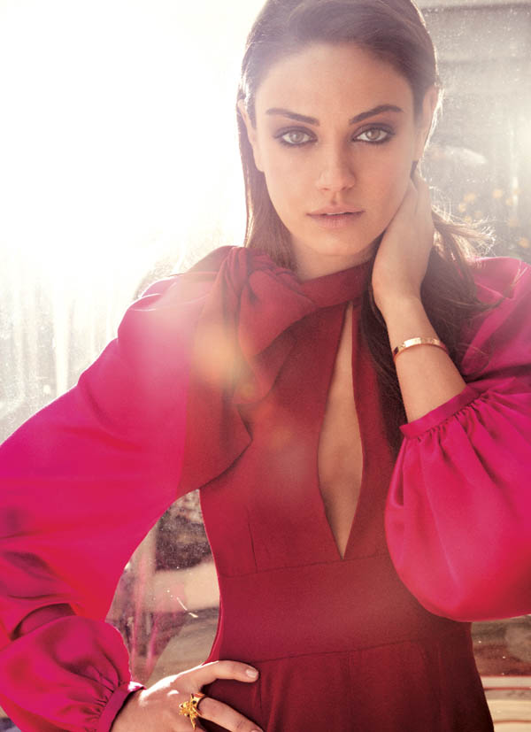 mila2 Mila Kunis in Lanvin for <em>FLAREs</em> August 2011 Cover