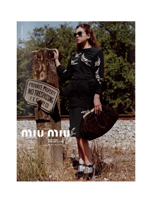 miumiu Miu Miu Fall 2011 Campaign Preview | Hailee Steinfeld by Bruce Weber