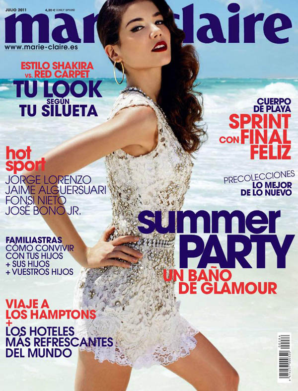 sheilacover <em>Marie Claire Spain</em> July 2011 Cover | Sheila Marquez by David Roemer
