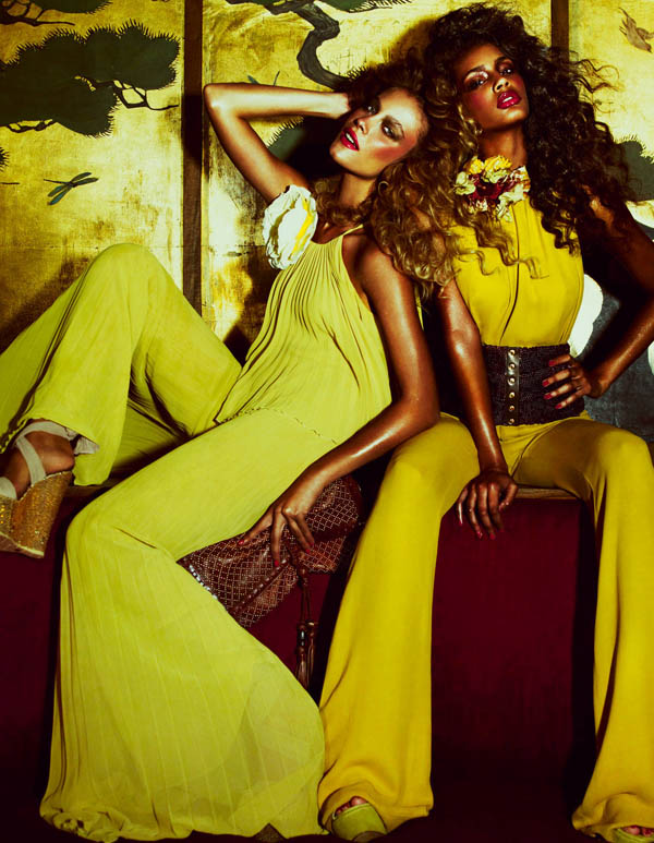Barbara & Tsanna by Andrew Yee for <em>How to Spend It</em>