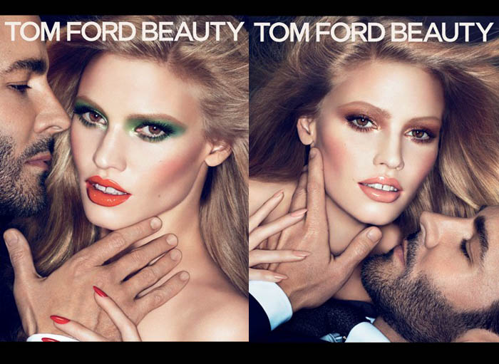 tf Lara Stone for Tom Ford Fall 2011 Beauty Campaign by Mert & Marcus