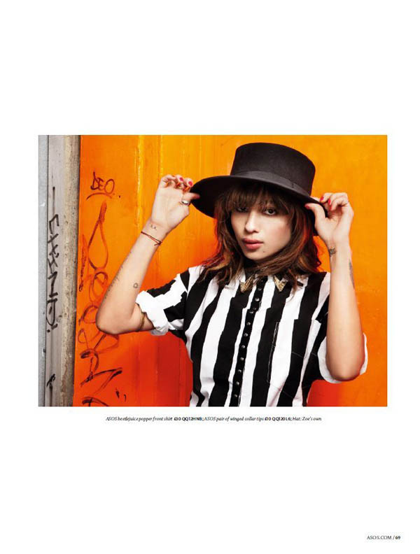 zoe kravitz Zoe Kravitz for <em>ASOS</em> July 2011 by Danielle Levitt