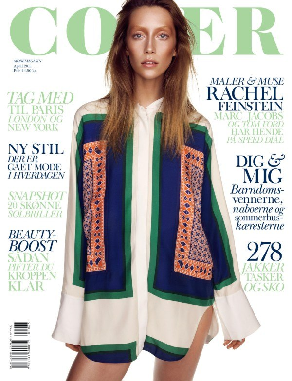 alanacover <em>Cover Magazine</em> April 2011 Cover | Alana Zimmer by Hasse Nielsen