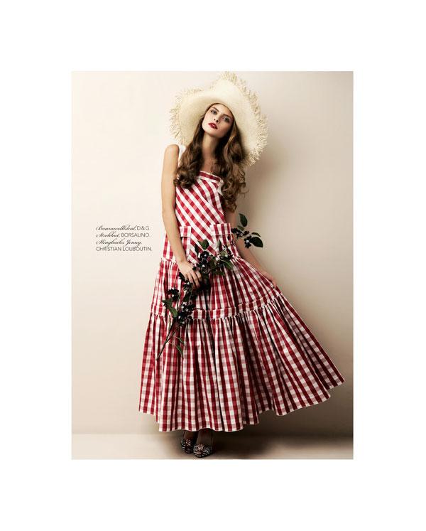 anna rudenko Anna Rudenko by Bèla Adler & Salvador Fresneda for <em>Si Style</em>