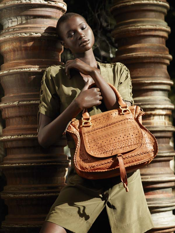ataui deng7 Ataui Deng by Mark Segal for <em>Bergdorf Goodman</em> Spring 2011