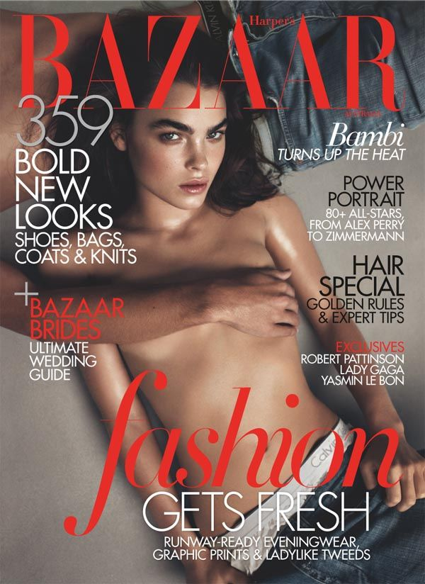 bambicover00 <em>Harpers Bazaar Australia</em> June/July 2011 Cover | Bambi Northwood Blyth by Lachlan Bailey