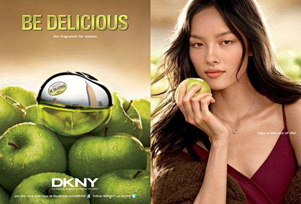bd2 DKNY Be Delicious 2011 Campaign | Chanel Iman & Fei Fei Sun by Regan Cameron