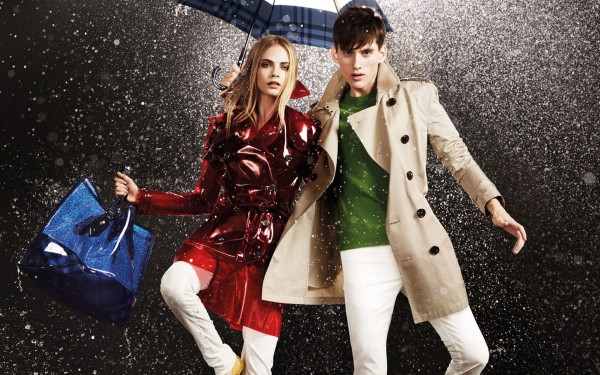 burberry Burberry April Showers Campaign | Cara Delevingne by Jacob Sutton