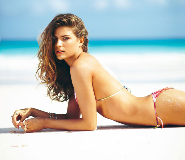 cal Cameron Russell for Calzedonia Spring 2011 Campaign by Russell James