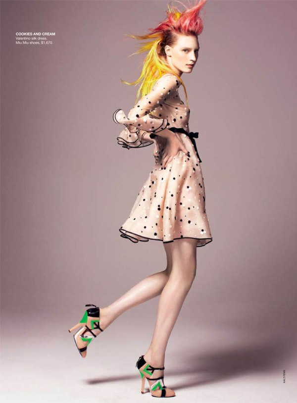 candy Julia Nobis for <em>Vogue Australia</em> May 2011 by Kai Z Feng
