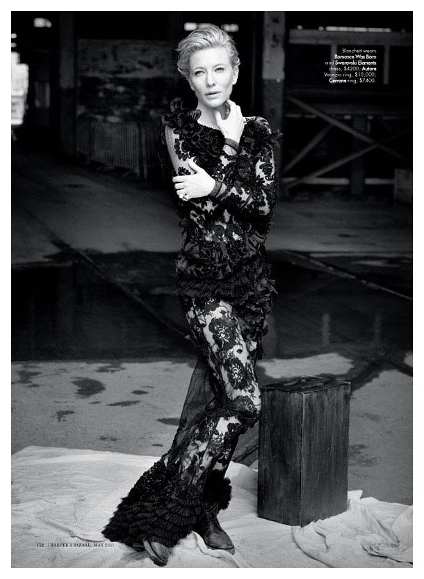 cate blanchett Cate Blanchett for <em>Harpers Bazaar Australia</em> May 2011 by Will Davidson