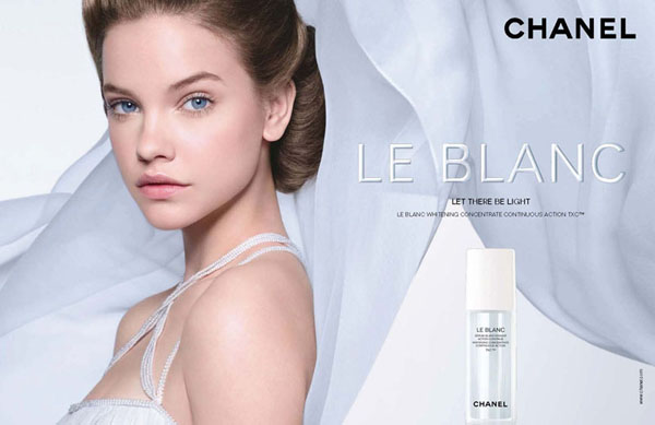 chanel0 Barbara Palvin for Chanel Le Blanc Campaign