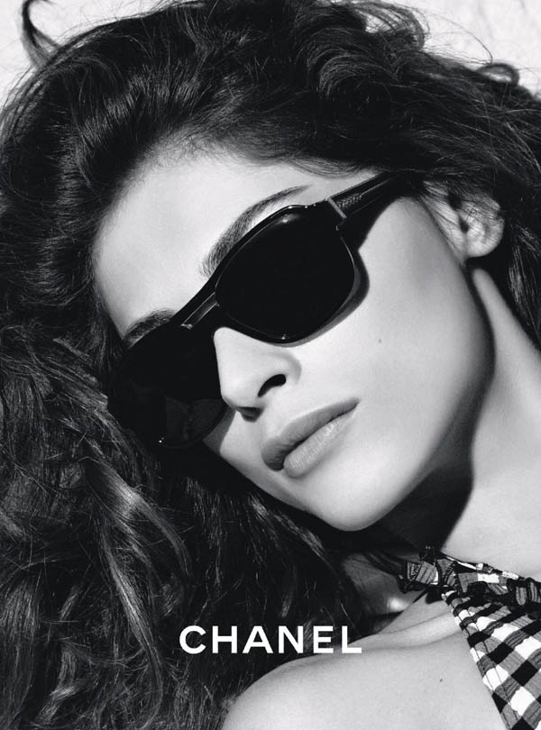 chanel1 Chanel Eyewear Spring 2011 Campaign | Elisa Sednaoui by Karl Lagerfeld