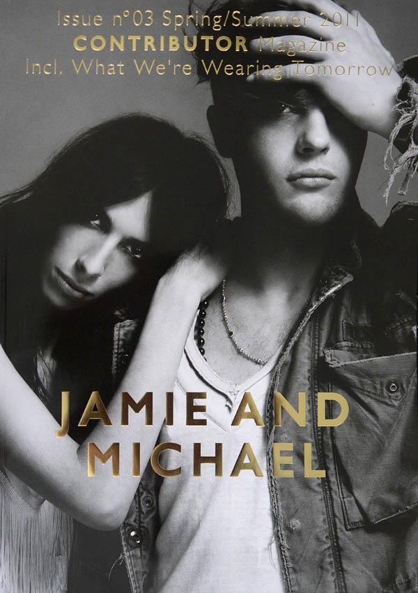 contributorcover <em>Contributor</em> #3 Cover | Jamie Bochert & Michael Pitt by Yu Tsai