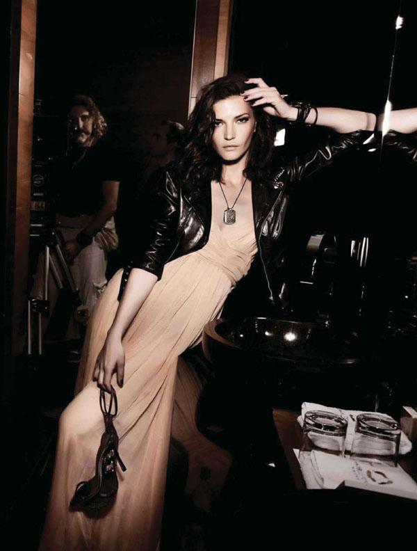 diana dondoe Diana Dondoe by Santiago Esteban for <em>Elle Spain</em> June 2011
