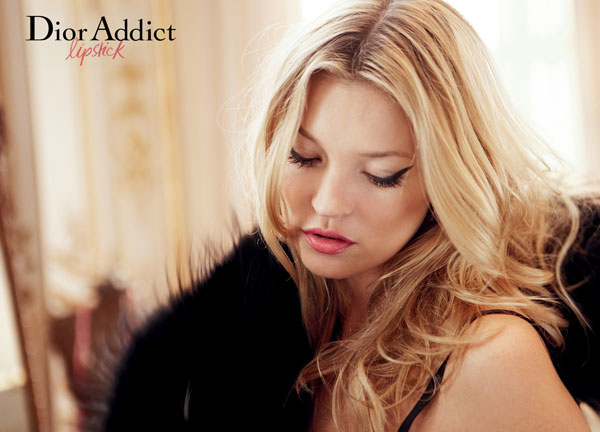 dior Kate Moss for Dior Addict Campaign by David Sims