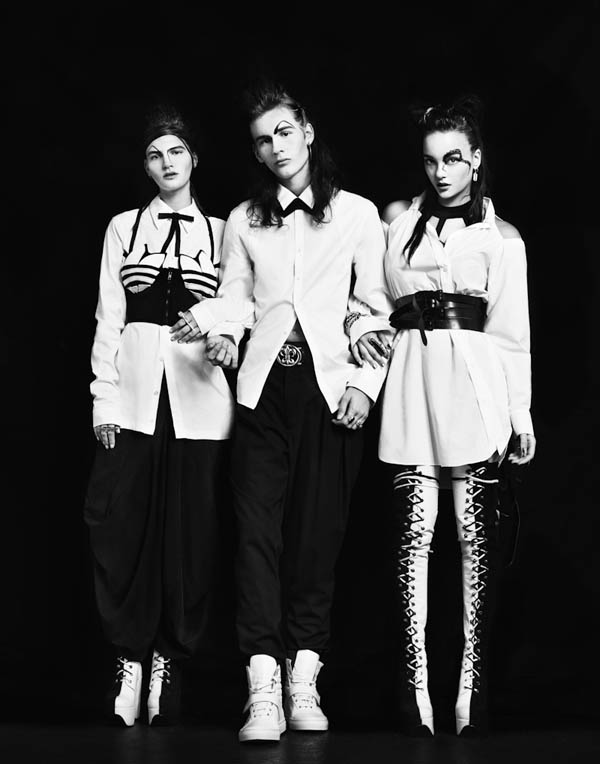 dwe Hirschy & Rebecca Victoria by Zac Steinic for <em>Down With Everything</em>