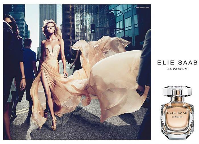 eliesaab Anja Rubik for Elie Saab Le Parfum Campaign by Mert & Marcus