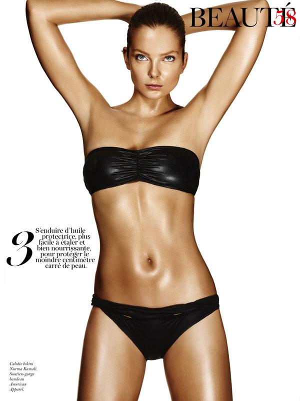 eniko mihalik0 Eniko Mihalik by Giampaolo Sgura for <em>Vogue Paris</em> June/July 2011