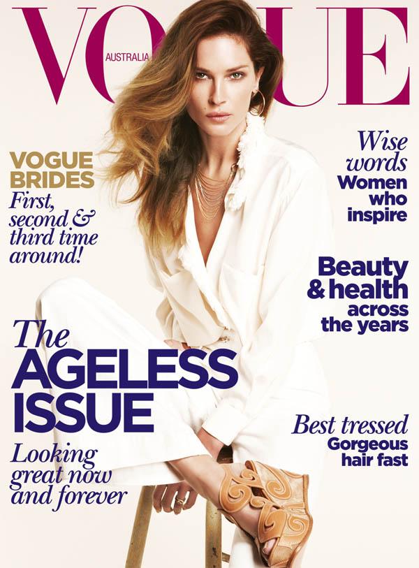 erincover <em>Vogue Australia</em> June 2011 Cover | Erin Wasson by Nicole Bentley